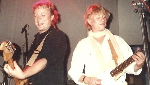 Lasse Lindbom och Nane Kvillsäter